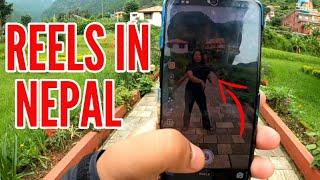 REELS SHOOTING IN NEPAL    TRAVEL VLOG    NEPAL VLOG    TIBETAN VLOGGER    TIBETAN YOUTUBER