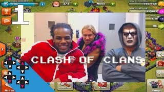 Stardust & Tyler Breeze introduce you to their clan (Clash of Clans Part 1) — UpUpDownDown Plays