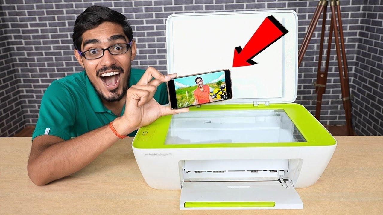 Printing a Video in Our Printer | चलती वीडियो को प्रिंट करने पर क्या होगा?