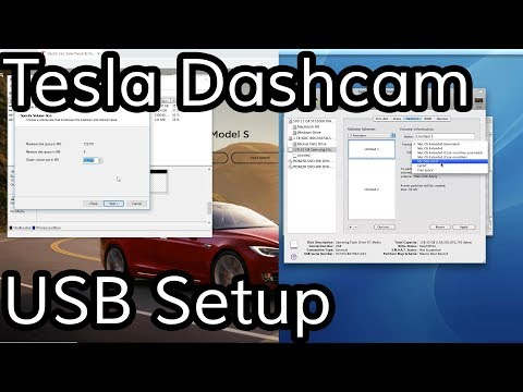 Partitioning USB Drive For Model 3 Dashcam & Music (Win & Mac)