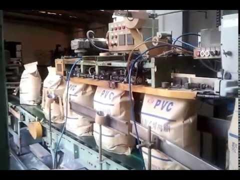 25KG kraft paper bag packing machine