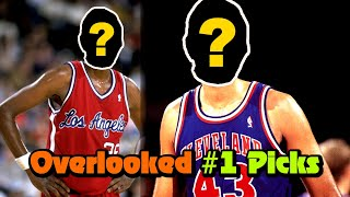 8 OVERLOOKED #1 Draft Picks That Nobody Talks About!