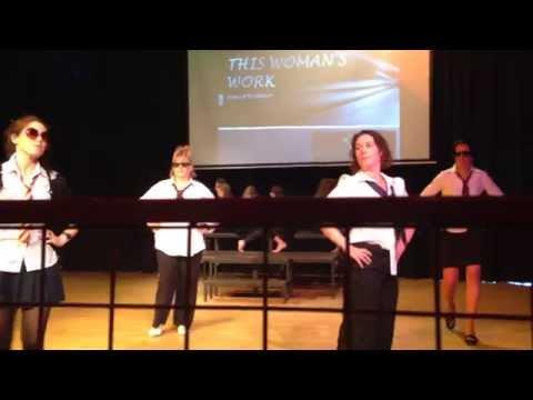 Westlands School Teachers Dancing 10.07.14