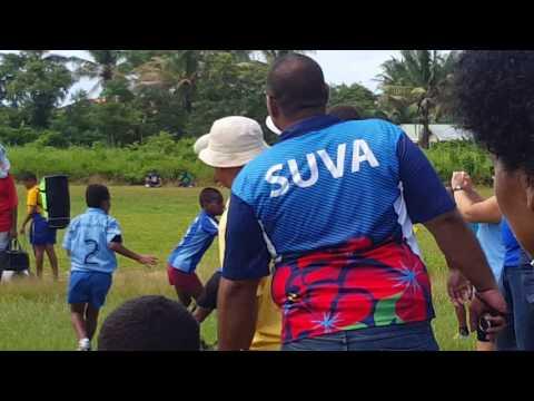 Stella Maris vs Draiba...Under 10 match Kaji Rugby... 14 May 2016