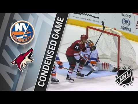 01/22/18 Condensed Game: Islanders @ Coyotes