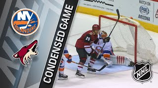 01 22 18 Condensed Game Islanders Coyotes