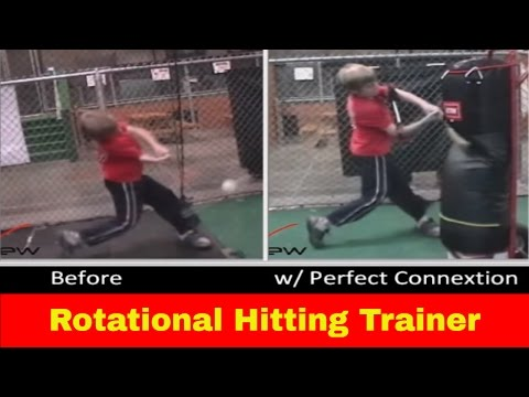 Rotational Hitting Aid - Baseball & softball swing trainer ...