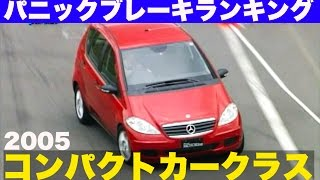 パニックブレーキランキング コンパクトカークラス2005【Best MOTORing...