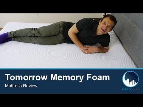 tomorrow-sleep-memory-foam-mattress-review---sink-into-bed-for-pressure-relief