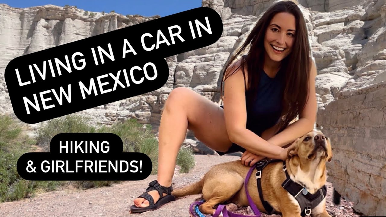 Living in a car in New Mexico: Visiting my vanlife BFF & hiking!