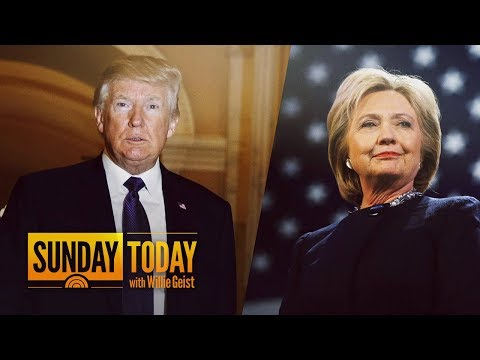 President Trump Calls Hillary Clinton The 'Biggest Loser Of All Time' In New Feud   Sunday TODAY