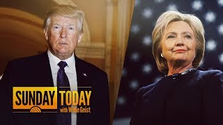 President Trump Calls Hillary Clinton The 'Biggest Loser Of All Time' In New Feud | Sunday TODAY