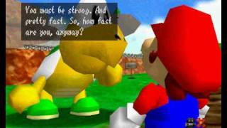 Lets play super mario 64!  Im A Scatman! (2)