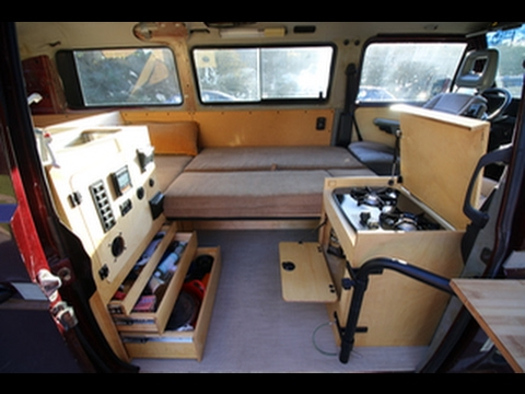 VW T3 Vanagon Doorway Kitchen v.2 - YouTube