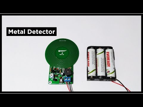 Metal Detector DIY Kit   Assembly, Testing & Review   Product Review EP 2