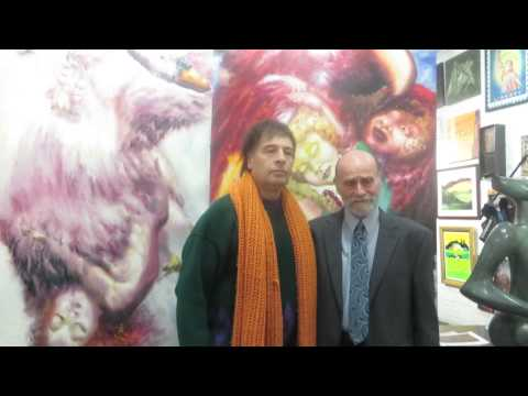Artist Alexander Kanevsky's interview by Harry Nasse at SoHo New York Ward-Nasse Gallery