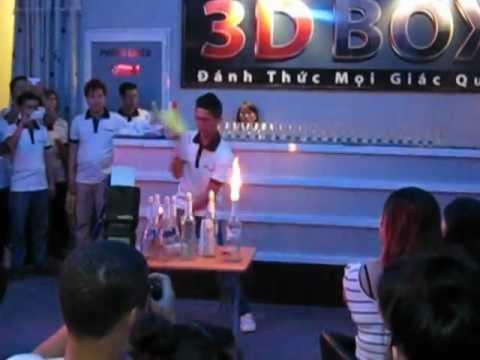 Sự kiện mừng 2/9 - Biểu diễn rượu tại Cinema Coffee 3D BOX - Tây Ninh
