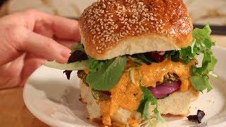 Save The Kales! - Lentil Burgers