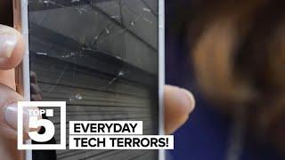 Horrifying tech terrors (CNET Top 5)