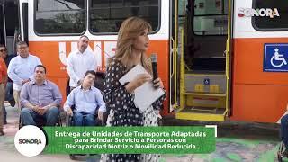 Entrega de 32 unidades nuevas adaptadas para personas con discapacidad