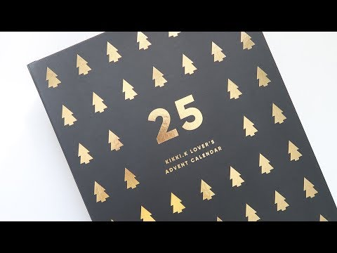 Kikki.K 2017 Advent Calendar Unboxing ~ A Beautiful Fable