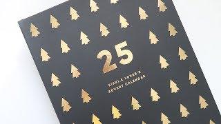 Kikki.K 2017 Advent Calendar Unboxing ~ A Beautiful Fable