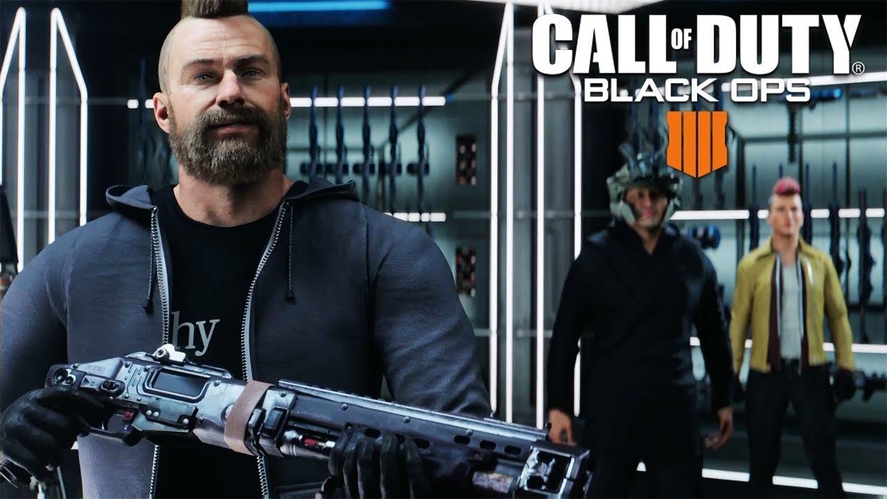 CALL OF DUTY: BLACK OPS 4 Intro Cutscene