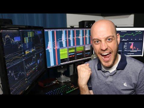 Utah Earthquake Hits During Livestream.  Day Trading Futures Livestream. 18 Mar 2020