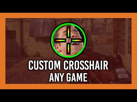 Get An (undetectable) Crosshair Over ANY GAME | 2020 (Custom Desktop Logo)