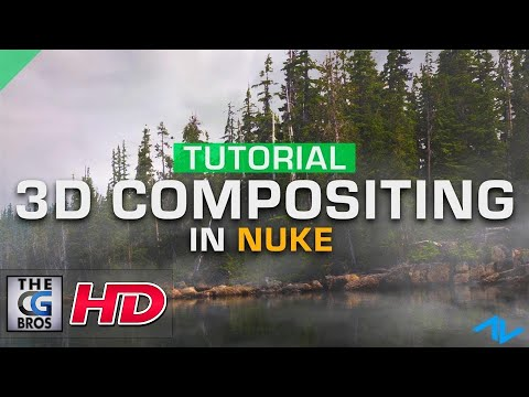 "CGI 3D & VFX Tutorials: ""NUKE: 3D Compositing"" - by ActionVFX"