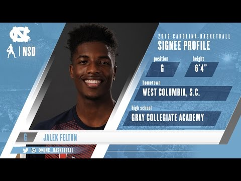 Carolina Basketball: Jalek Felton joins the #CarolinaFamily!