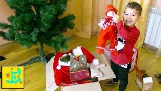 Наряжаем ЁЛОЧКУ !!! Егорка Дед Мороз Поёт Песни !!!
