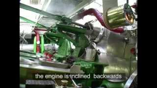 Dampfmaschine der Schönbrunn (1912) / Marine Steam Engine With Joy's Valve Gear