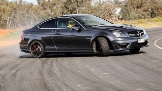 Mercedes C63 AMG Drift Compilation
