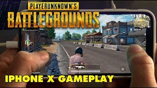 PUBG on iPhone X! - PlayerUnknown's Battlegrounds Mobile Gameplay