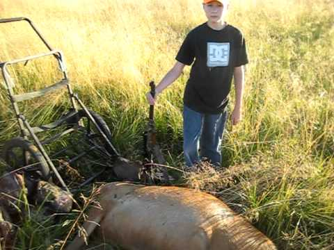 Eastern oregon elk hunting aug 2011 youtube for Oregon out of state fishing license
