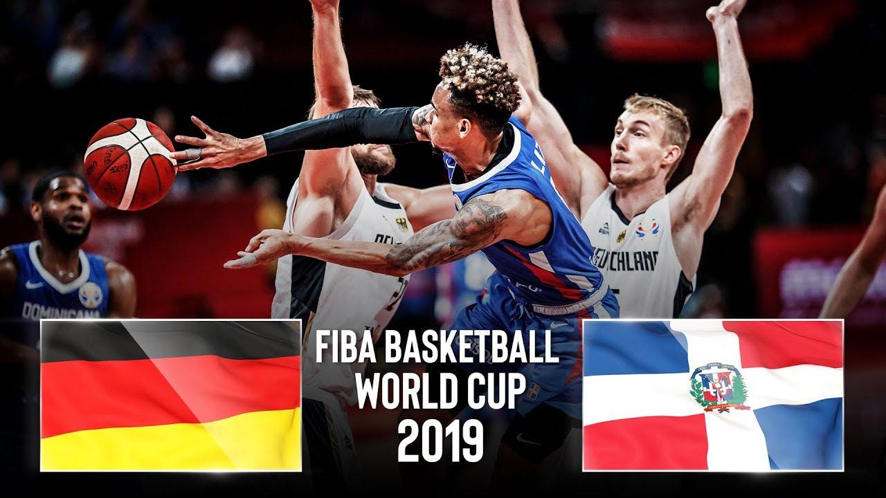 Germany 🇩🇪 v Dominican Republic 🇩🇴 - Classic Full Games