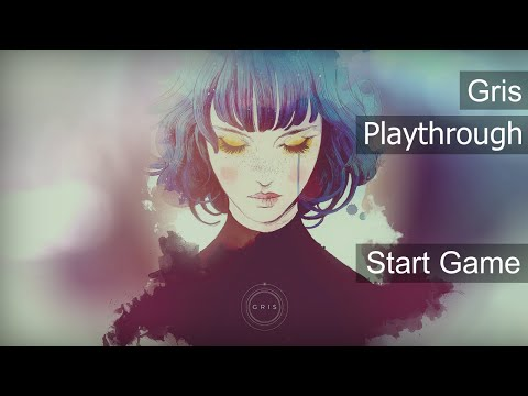 Gris Start Game - Playthrough No talk or Comentary |