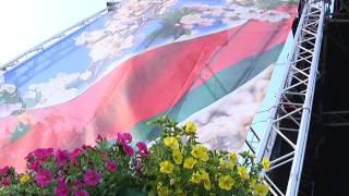 2017-07-04 г. Брест. Акция «Споем гимн вместе». Новости на Буг-ТВ.