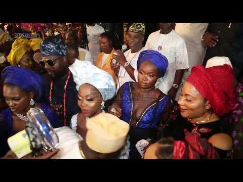 WATCH THE GLITZ AND GLAMOUR OF MAYOMI AND MOFE WEDDING IN LAGOS