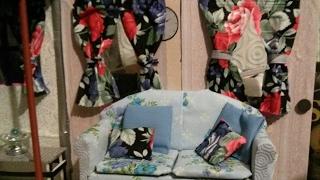 Diy Curtains For Doll Houses/ Cortinas Para MuÑeca
