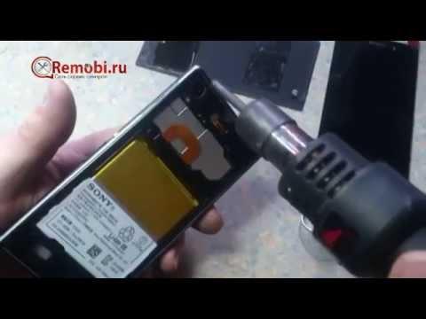 Как разобрать Sony Xperia Z1, ремонт телефонов от remobi.ru, Remobi, Ремоби