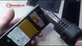 видео Ремонт телефонов Sony