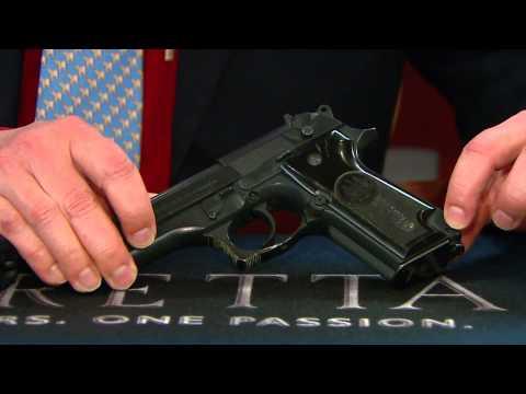 Beretta 92FS Compact 9mm Pistol - JS92F850M