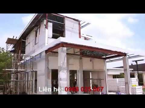Nhà Thép 2 Tầng | Báo Giá  Lắp Dựng Hoàn Thiện Giá Rẻ, Đẹp - Full HD
