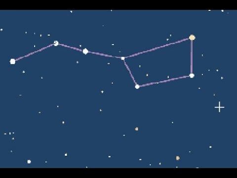 картинки созвездия малой медведицы