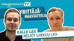 Yrittäjähaastattelu: Kalle Lax / NELIÖT LIIKKUU LKV