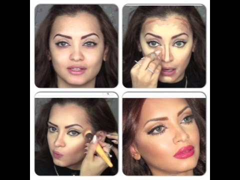 How To - Foundation Concealer Contouring And Highlighting (Updated ...