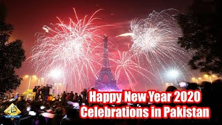 Happy New Year 2020 celebrations in Pakistan Lahore Bahria Town