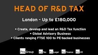 Baixar Pro-Tax - Head of R&D Tax - Chris Davey